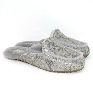 NIB UGG Lane Slip On Loafer Snake Embossed